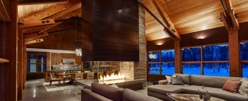 Brandner Design Custom Fireplace