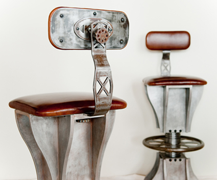 Brandner Design Turnbuckle Stools