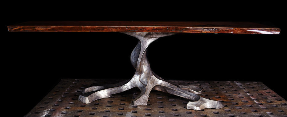 Brandner Design Twisted Tree Table