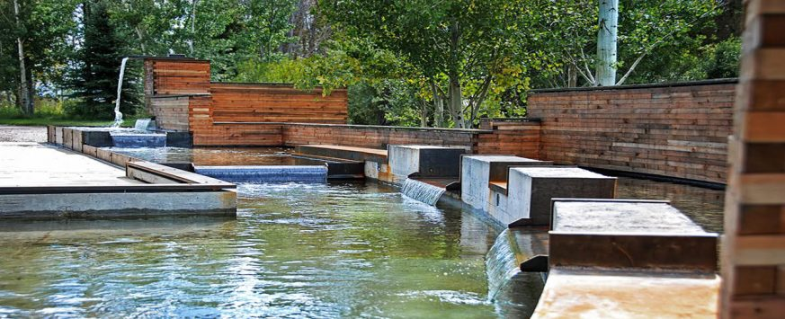 Brandner Design Lake Creek Water Garden