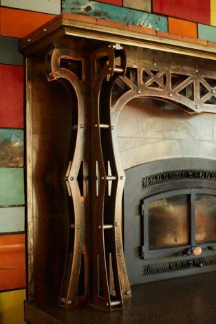 Brandner Design Bridger Fireplace Surround