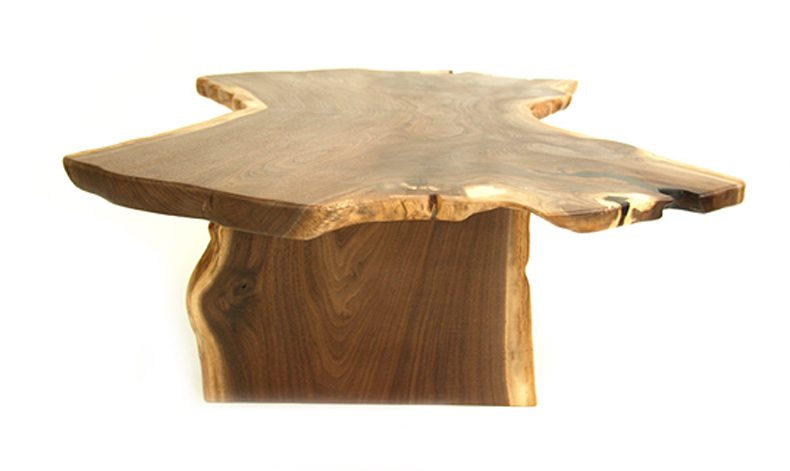 Book-Matched Slab Table