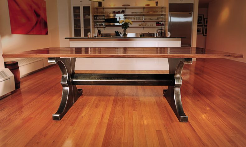 "Brooklyn ""X"" Split Dining Table"