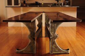 "Brooklyn ""X"" Split Dining Table"