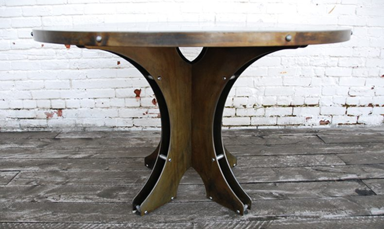 NORTHBROOK PEDESTAL DINING TABLE