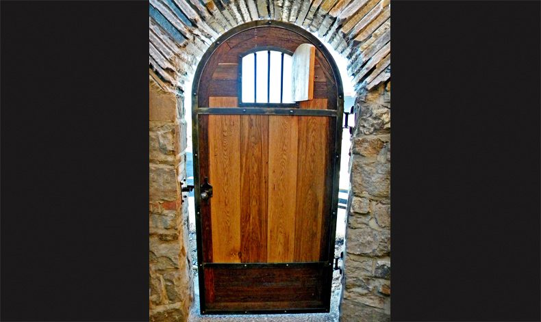 Autumn Ridge - Medieval Modern Door