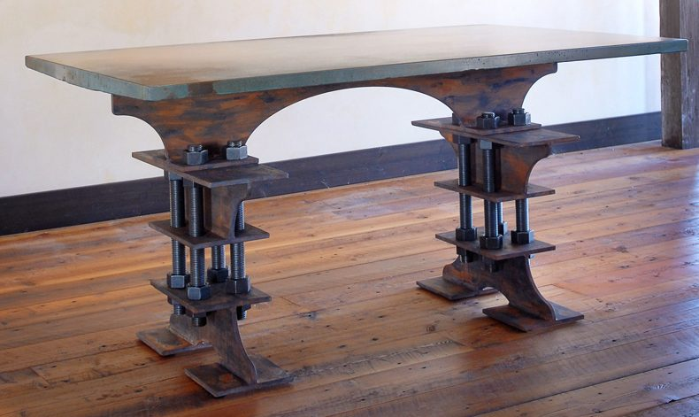 I-Beam Dining Table