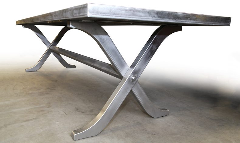 "LAZY ""X"" DINING TABLE"