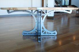 Mini-Truss Circular Dining Table