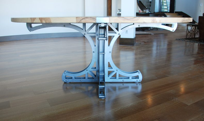 Mini-Truss Circular Dining Table