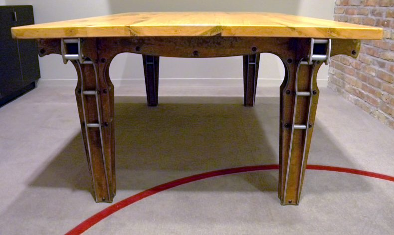 MULTI MINI-TRUSS DINING TABLE