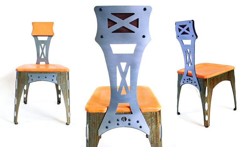 Brandner Design The Sheet Metal Chair