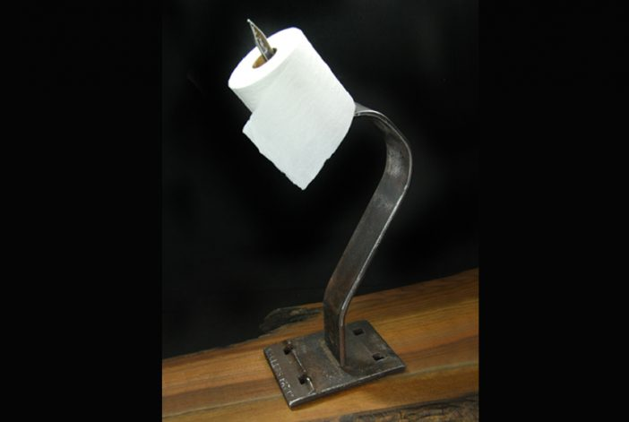 Toilet Paper Holder- Free Standing Spike