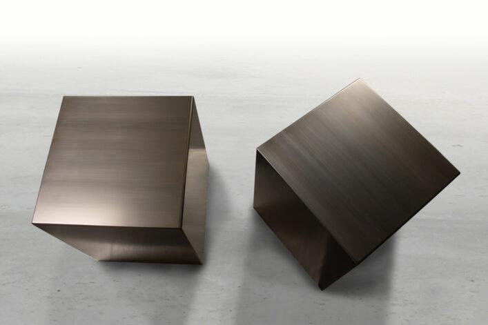 modern cube directional black veil