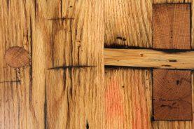 Brandner Design Mortised Reclaimed Red Oak