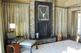Brandner Design Antique Brown Black Lake Creek Fireplace Surround