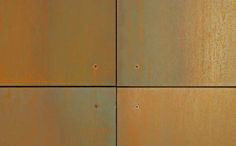 Superb Brandner Design Rust Veil Steel Wall Panels