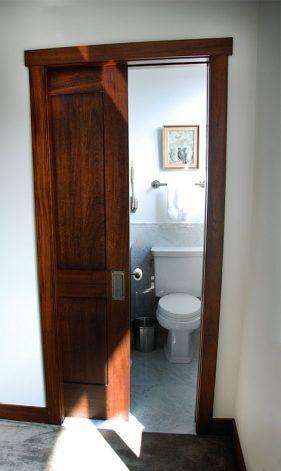 Mahogany Recessed Panel Doors