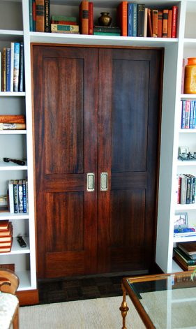 Brandner Design Mahogany Recessed Panel Dooroors