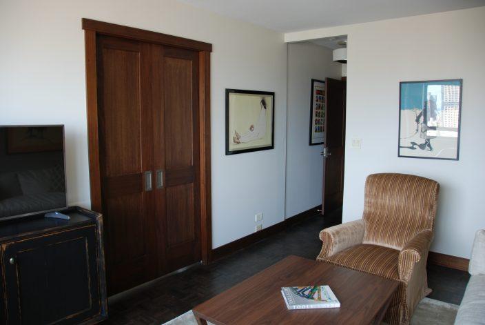 Mahogany Craftsmen Style Doors