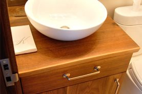 Walnut Bath Vanity
