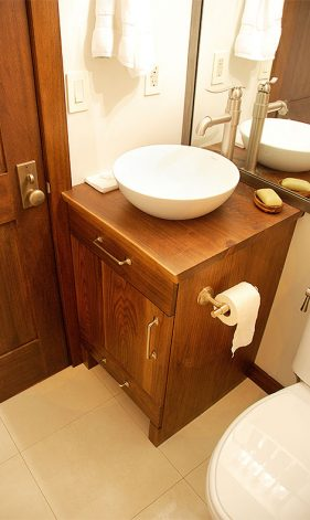 Walnut Bath Vanity