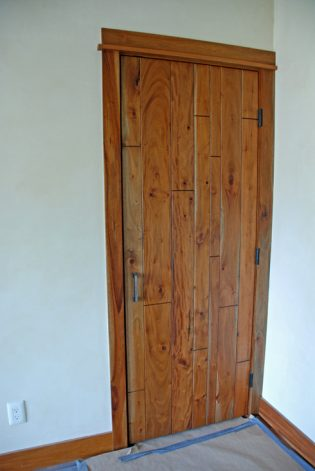 Brandner Design Mahogany Plank Door
