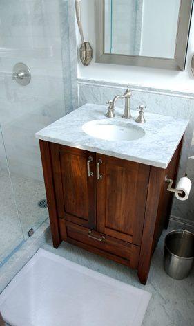 brandner design mahogany and marble vanity. Black Bedroom Furniture Sets. Home Design Ideas