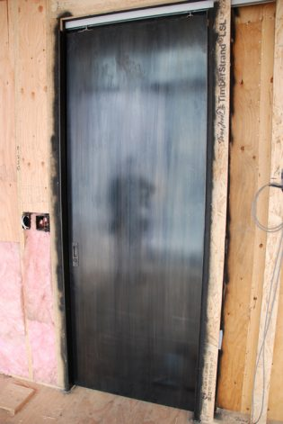 Steel Pocket Doors