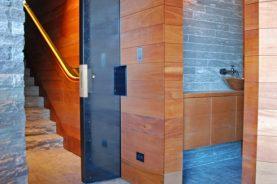 Plate Steel Pocket Door