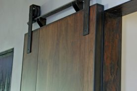Mondrian Walnut Sliding Doors