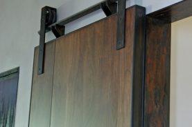 Mondrian Walnut Sliding Doors