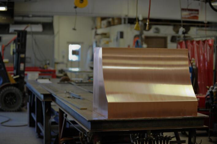 El Dorado Copper Oven Hood