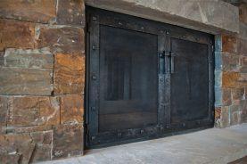 the eldorado fireplace door