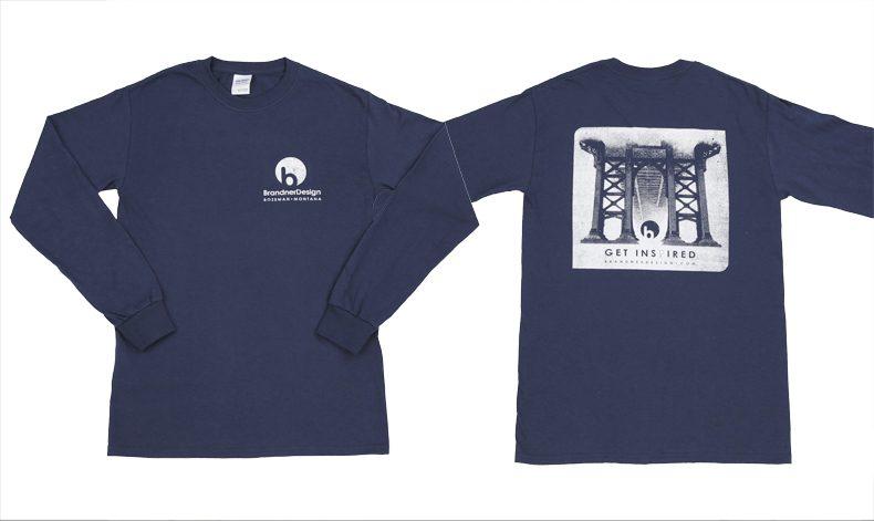Brandner Design The Bridge Long Sleeve T Shirt