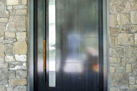 The Rockcress Door modern industrial entry door