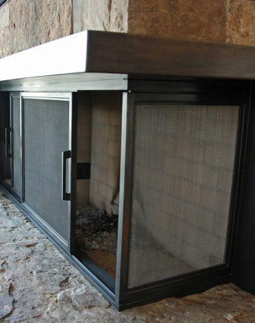 Brandner Design The Sliding Fireplace Doors