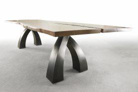 Brandner Design Wishbone Walnut Table