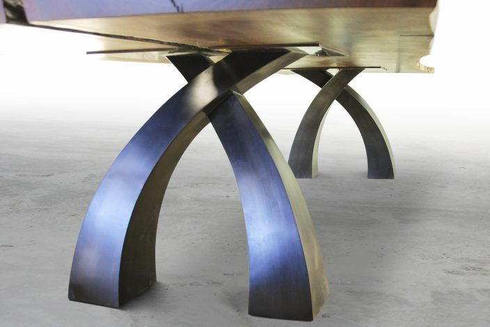 Brandner Design Wishbone Walnut Table
