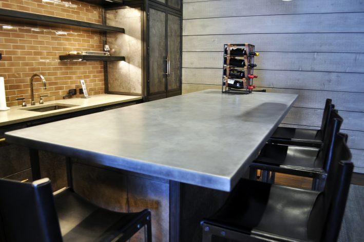 Formed Zinc Countertops - Brandner Design
