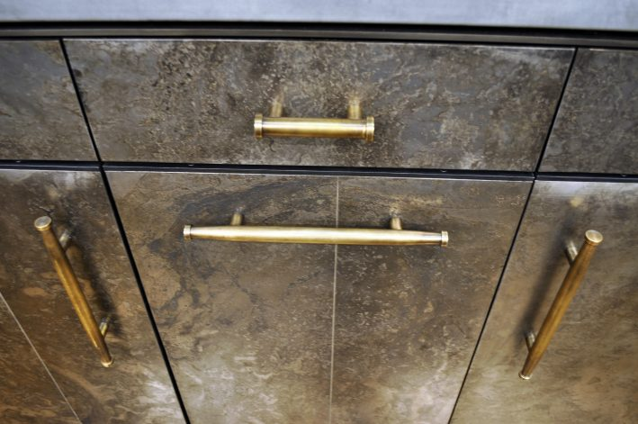 Brandner Design Long Brass Bone Pulls