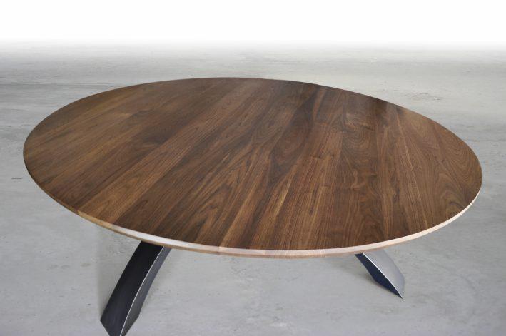 Circular Equilibrium Dining Table