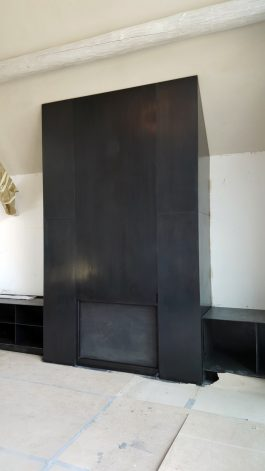 Indian Springs Guillotine Fireplace