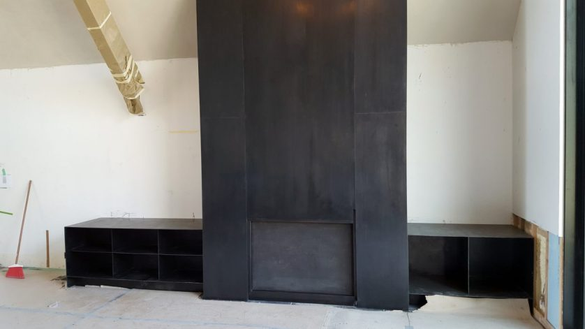 Brandner Design Indian Springs Fireplace Panels