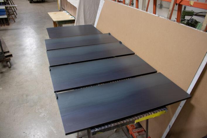 blackened hot rolled steel