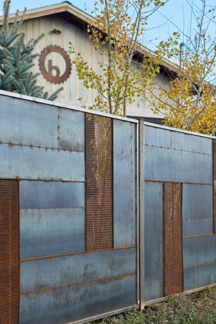 Brandner Design Bridger Fence