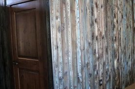 Brandner Design Shou Sugi Ban Blue Wall Panels