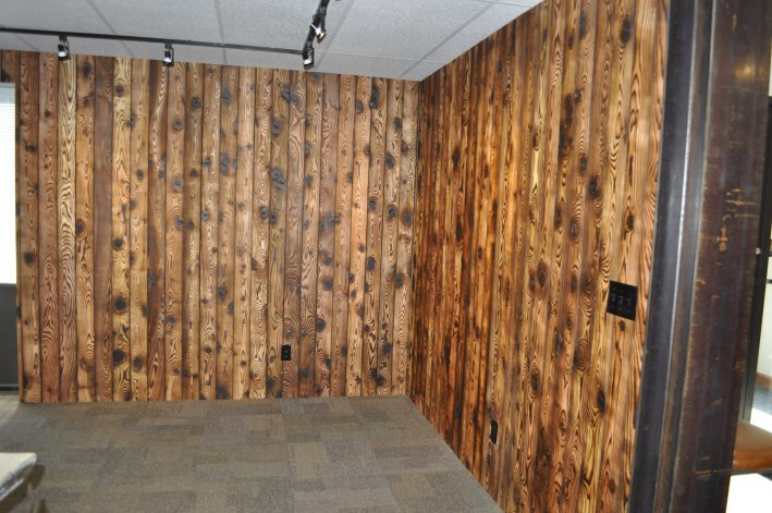Shou Sugi Wall Panels