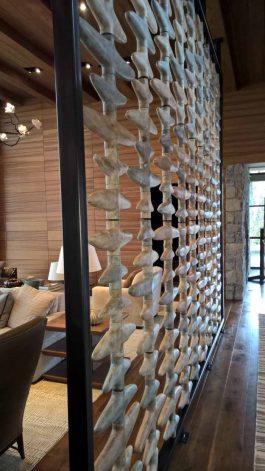 Brandner Design Obsidian Bone Wall