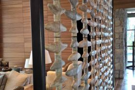 Brandner Design Obsidian Bone Wall